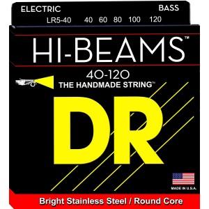 DR Hi-Beams 5 String Bass (Light)