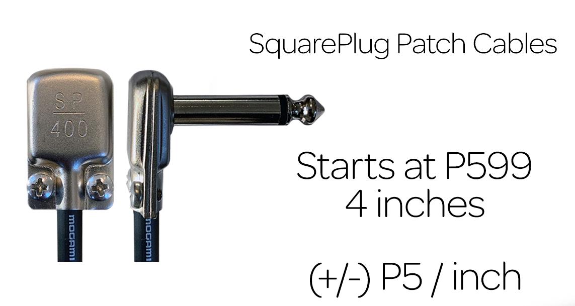 SquarePlug Patch Cables