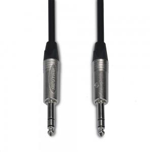 "SLM Neutrik / Mogami TRS Cable (Straight  1/4"" - Straight 1/4"")"