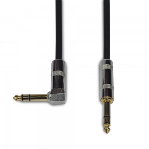 """SLM DS / Mogami TRS Cable (Angled  1/4"""" - Straight 1/4"""")"""