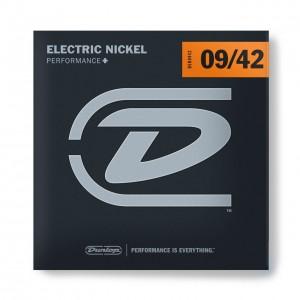 DUNLOP PERFORMANCE+ ELECTRIC GUITAR STRINGS 09-42