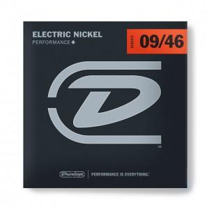 DUNLOP PERFORMANCE+ ELECTRIC GUITAR STRINGS 09-46