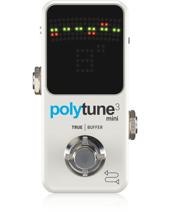 POLYTUNE 3 Mini Tiny Polyphonic Tuner Pedal
