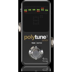 POLYTUNE 3 Mini Noir Tiny Polyphonic Tuner Pedal